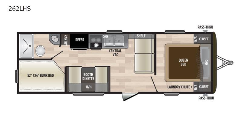 Hideout floorplan