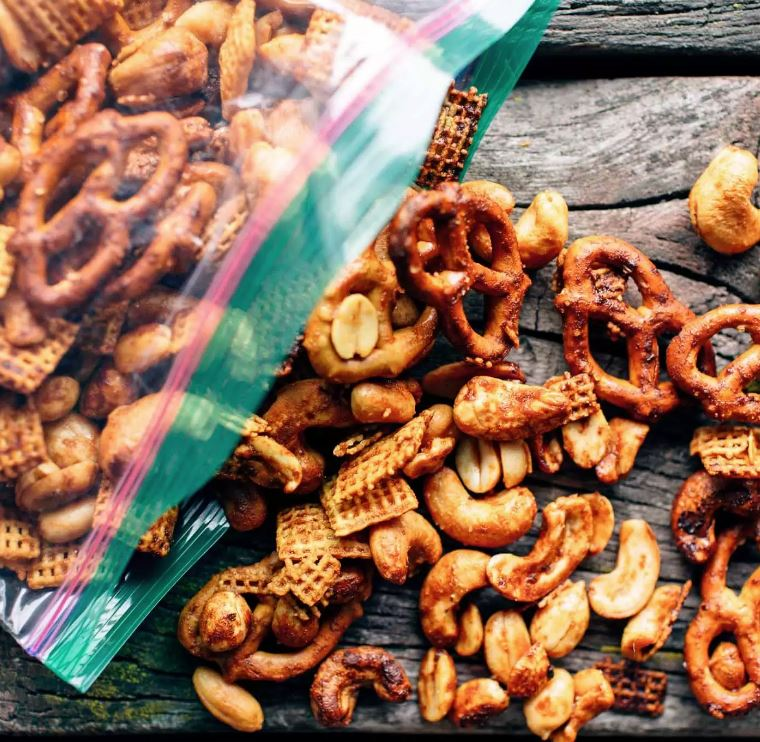 Sweet and Spicy Trail Mix