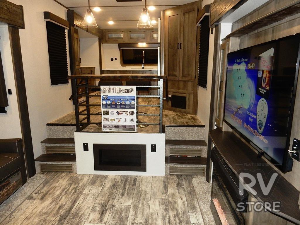 2020 Sprinter 3610FWFKS Kitchen TV