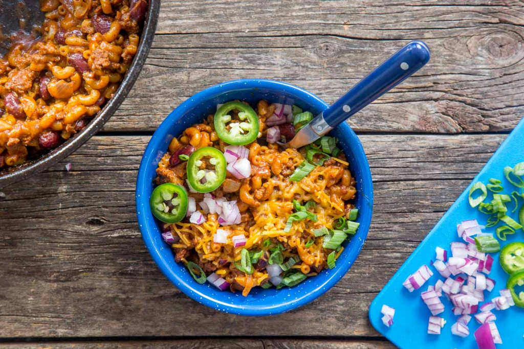 Dutch-Oven-Chili-Mac-Camping-Meal