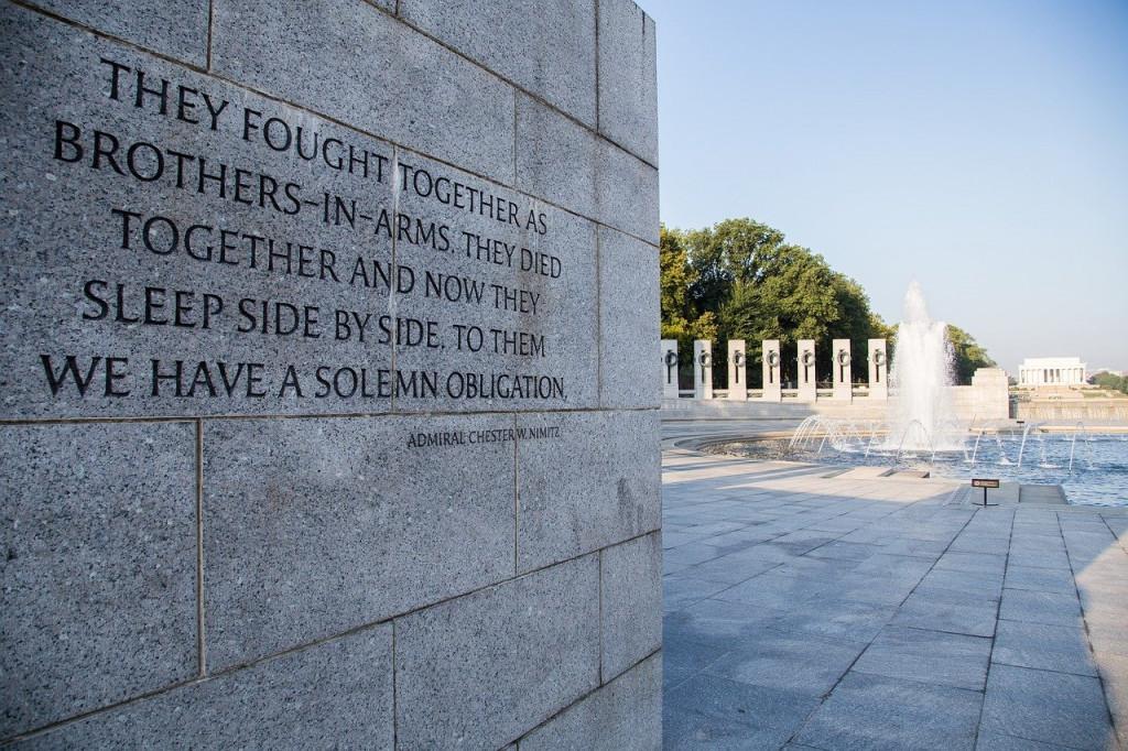 world-war-ii-memorial-1809437_1280